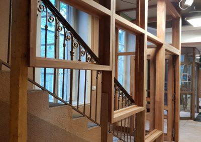 escalier lyon villeurbanne