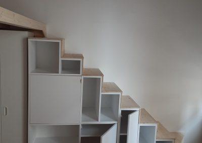 Mezzanines et escaliers